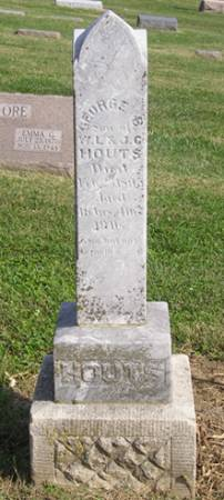 HOUTS, GEORGE B - Fremont County, Iowa | GEORGE B HOUTS