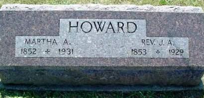 CLARK HOWARD, MARTHA ANN - Fremont County, Iowa | MARTHA ANN CLARK HOWARD