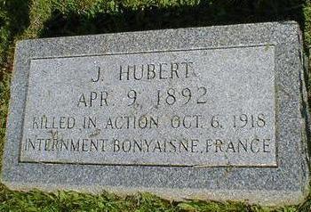HUBERT, J. - Fremont County, Iowa   J. HUBERT