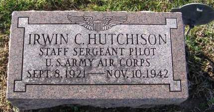 HUTCHISON, IRWIN C - Fremont County, Iowa   IRWIN C HUTCHISON