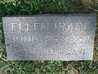 IRWIN, ELLEN - Fremont County, Iowa | ELLEN IRWIN