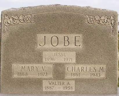 JOBE, CHARLES M - Fremont County, Iowa | CHARLES M JOBE