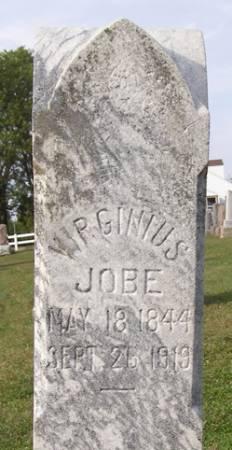 JOBE, VIRGINIUS - Fremont County, Iowa   VIRGINIUS JOBE