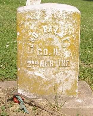 PALMER JOHN, RODHAM - Fremont County, Iowa | RODHAM PALMER JOHN