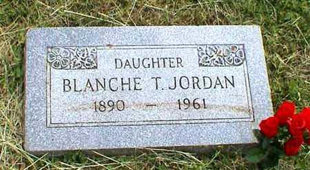 THATCHER JORDAN, BLANCHE - Fremont County, Iowa | BLANCHE THATCHER JORDAN