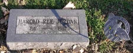 JORDAN, HAROLD REX - Fremont County, Iowa | HAROLD REX JORDAN
