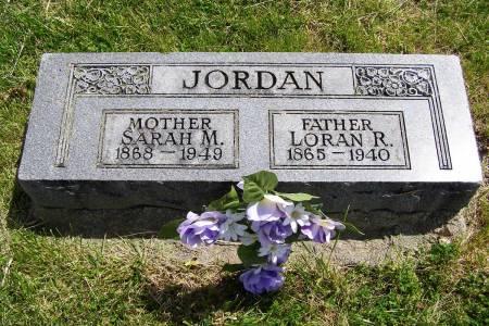 JORDAN, LOREN RAWLINGS - Fremont County, Iowa | LOREN RAWLINGS JORDAN