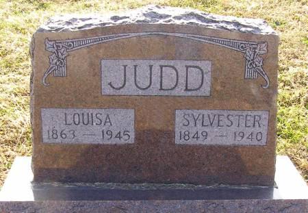 JUDD, SYLVESTER - Fremont County, Iowa | SYLVESTER JUDD