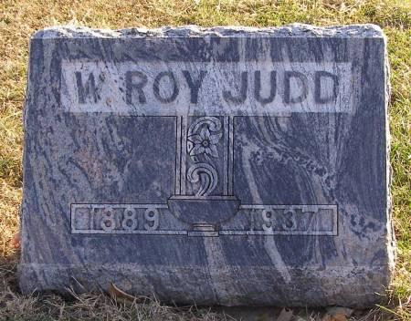 JUDD, W ROY - Fremont County, Iowa   W ROY JUDD