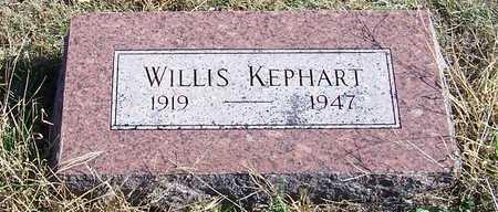 KEPHART, WILLIS - Fremont County, Iowa | WILLIS KEPHART