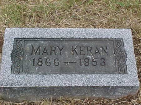 KERAN, MARY - Fremont County, Iowa | MARY KERAN