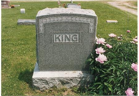 KING, FAMILY - Fremont County, Iowa | FAMILY KING