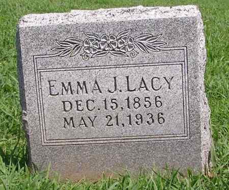 LACY, EMMA J - Fremont County, Iowa   EMMA J LACY