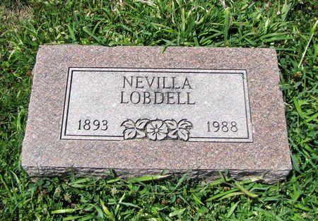 LOBDELL, NEVILLA - Fremont County, Iowa | NEVILLA LOBDELL