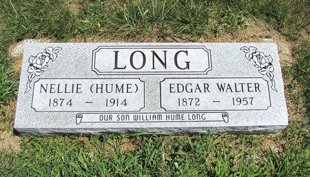 LONG, EDGAR WALTER - Fremont County, Iowa   EDGAR WALTER LONG