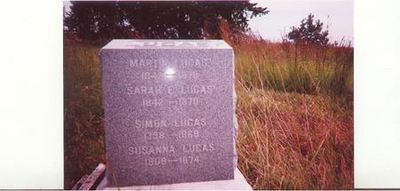 LUCAS, SIMON - Fremont County, Iowa | SIMON LUCAS