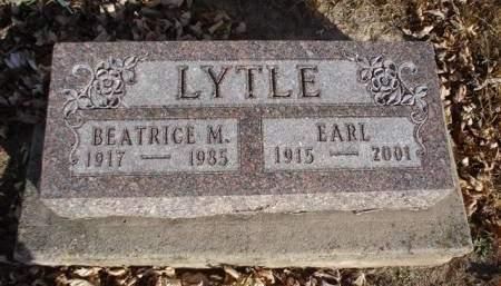 LYTLE, EARL - Fremont County, Iowa   EARL LYTLE