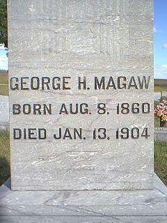 MAGAW, GEORGE - Fremont County, Iowa | GEORGE MAGAW
