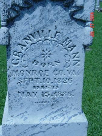 MANN, GRANVILLE - Fremont County, Iowa | GRANVILLE MANN