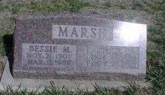 MARSH, BESSIE - Fremont County, Iowa | BESSIE MARSH