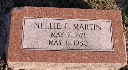 HANDLEY MARTIN, NELLIE F - Fremont County, Iowa | NELLIE F HANDLEY MARTIN