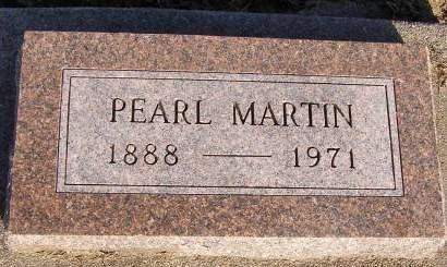 MARTIN, PEARL - Fremont County, Iowa | PEARL MARTIN