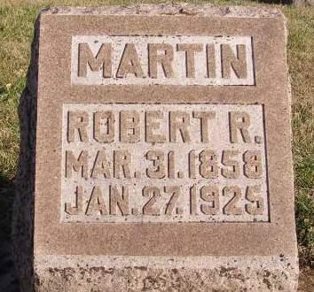 MARTIN, ROBERT R - Fremont County, Iowa | ROBERT R MARTIN