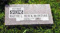 BUICK MCINTYRE, HATTIE - Fremont County, Iowa | HATTIE BUICK MCINTYRE