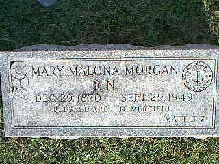 MORGAN, MARY MALONA - Fremont County, Iowa | MARY MALONA MORGAN
