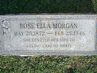 MORGAN, ROSE ELLA - Fremont County, Iowa | ROSE ELLA MORGAN