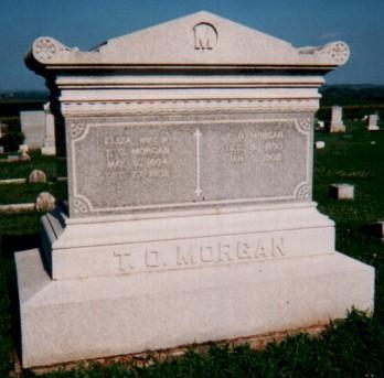MORGAN, ELIZA - Fremont County, Iowa | ELIZA MORGAN