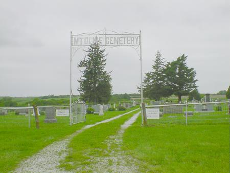 MT. OLIVE, CEMETERY - Fremont County, Iowa | CEMETERY MT. OLIVE