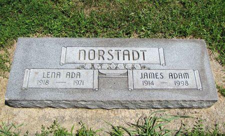NORSTADT, JAMES ADAM - Fremont County, Iowa   JAMES ADAM NORSTADT