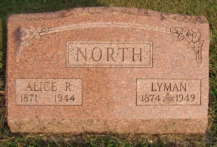 NORTH, ALICE R - Fremont County, Iowa | ALICE R NORTH