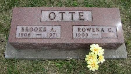 OTTE, BROOKS A - Fremont County, Iowa | BROOKS A OTTE