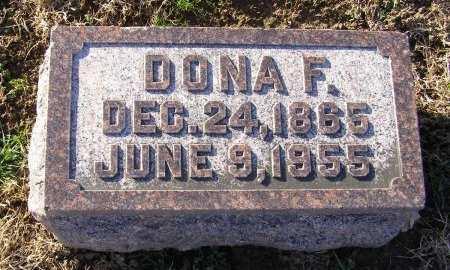 HANING OTTE, DONA F - Fremont County, Iowa | DONA F HANING OTTE