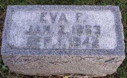 OTTE, EVA FLORENCE - Fremont County, Iowa | EVA FLORENCE OTTE
