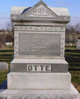 OTTE, GEORGE - Fremont County, Iowa | GEORGE OTTE