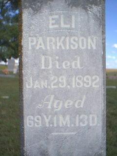 PARKISON, ELI - Fremont County, Iowa | ELI PARKISON