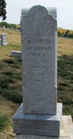 PEARSON, ELIZABETH - Fremont County, Iowa   ELIZABETH PEARSON
