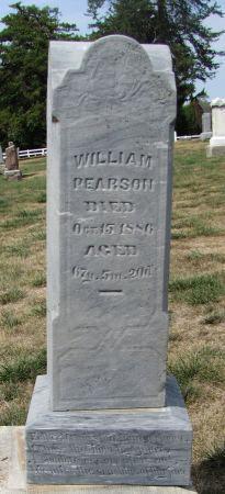 PEARSON, WILLIAM - Fremont County, Iowa   WILLIAM PEARSON