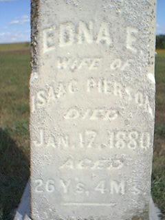PIERSON, EDNA - Fremont County, Iowa | EDNA PIERSON