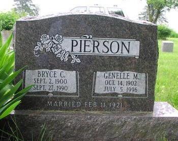 PIERSON, GENELLE M. - Fremont County, Iowa | GENELLE M. PIERSON