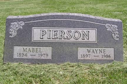 PIERSON, WAYNE - Fremont County, Iowa | WAYNE PIERSON