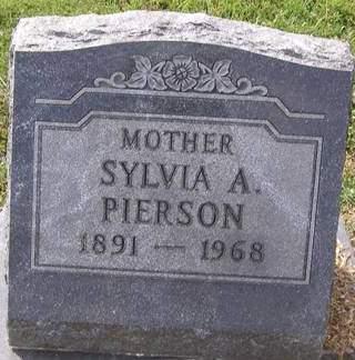 GRAY PIERSON, SYLVIA ALICE - Fremont County, Iowa | SYLVIA ALICE GRAY PIERSON