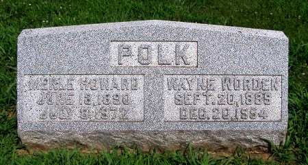POLK, MERLE H - Fremont County, Iowa | MERLE H POLK