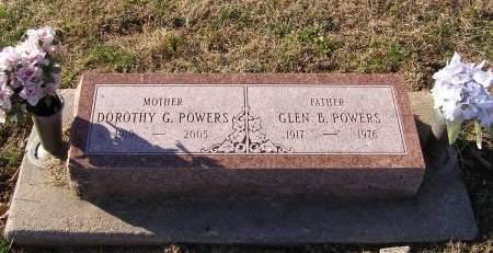 GARDNER POWERS, DOROTHY - Fremont County, Iowa   DOROTHY GARDNER POWERS