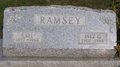 RAMSEY, EARL - Fremont County, Iowa | EARL RAMSEY