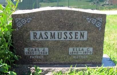 RADMER RASMUSSEN, ELLA - Fremont County, Iowa   ELLA RADMER RASMUSSEN