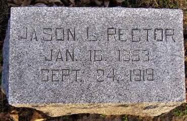 RECTOR, JASON L - Fremont County, Iowa   JASON L RECTOR